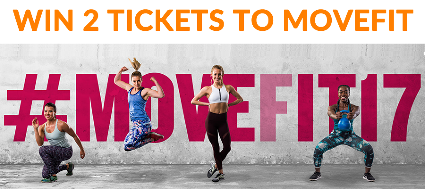 COMPETITION: Win a pair of tickets to MOVEFIT 2017